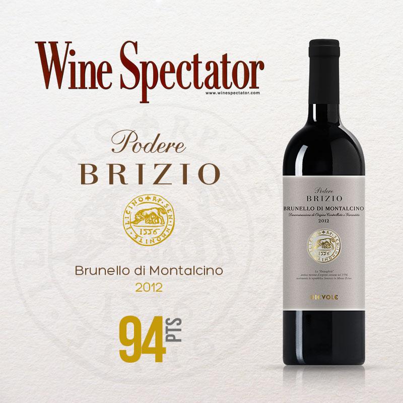 Brunello di Montalcino 2012, Wine Spectator