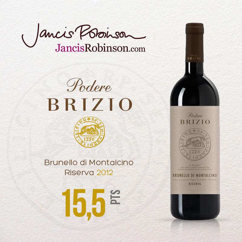 Brunello di Montalcino DOCG Riserva 2012, Jancis Robinson