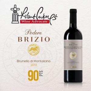 Brunello di Montalcino DOCG 2014, Wine Advocate